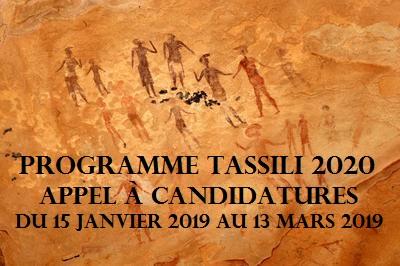 Programme Tassili 2020 : Appel à candidatures